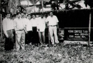 Vermi Compost Project adopted by the college
